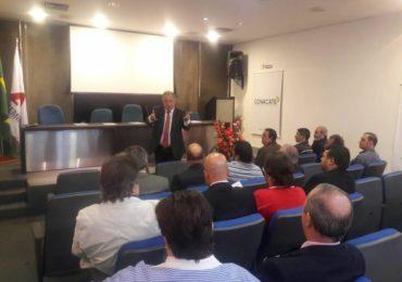 Sindsema participa de encontro de lideranças promovido pela Conacate