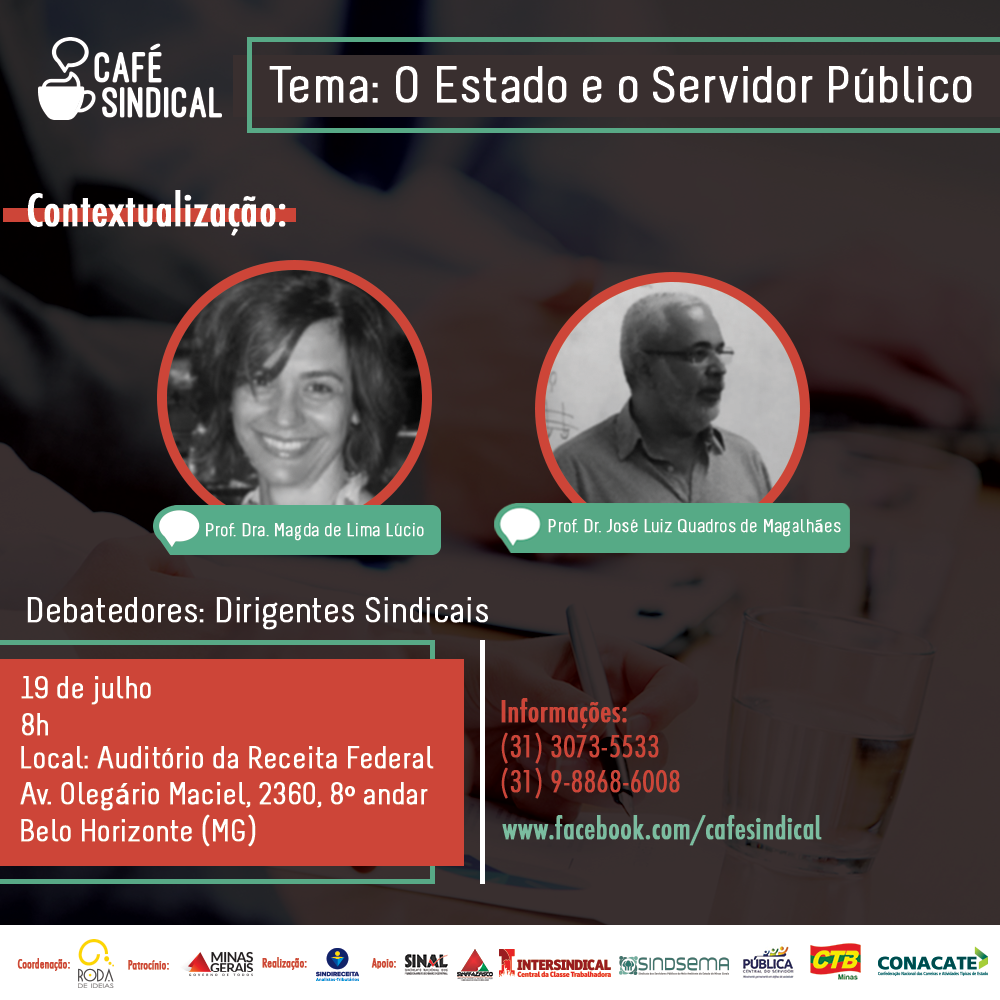 Sindsema presente no primeiro encontro do Café Sindical 2017