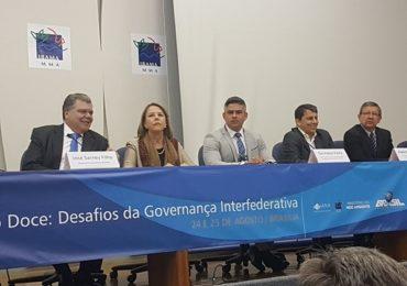 Governança Interfederativa do rio Doce é discutida em Seminário em Brasília