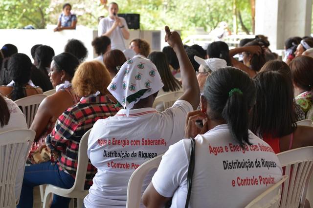 Atingidas por barragens acampam na ALMG pelo Dia da Mulher
