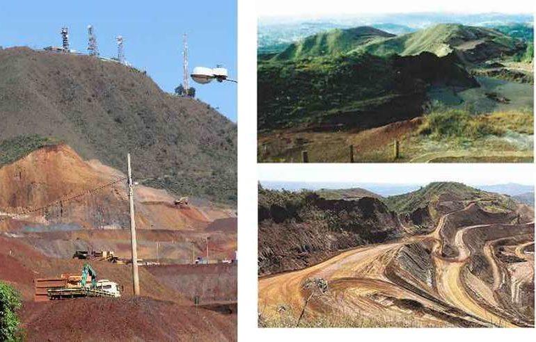 Mineração 'come pedaço' da Serra do Curral