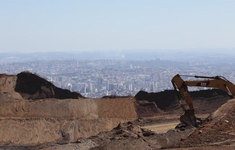 CPI constata indícios de mineração irregular na Serra do Curral