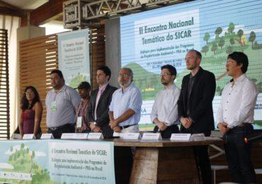 Encontro discute regularização ambiental