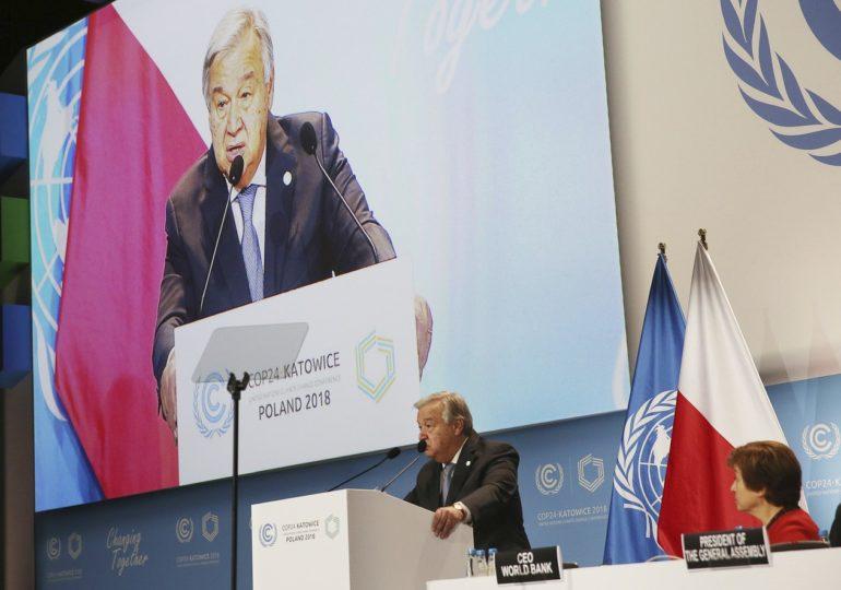 Secretário-geral da ONU pede aposta por economia verde em abertura da COP 24