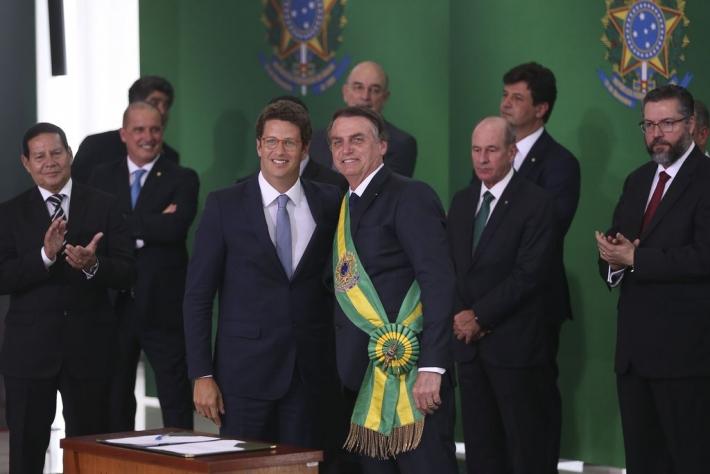 Mudança do clima e combate ao desmatamento somem no Meio Ambiente de Bolsonaro