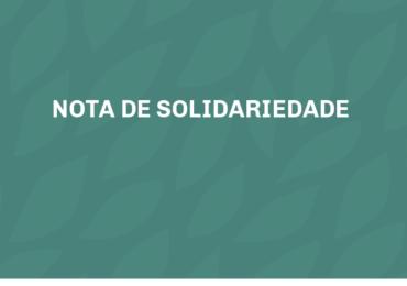 Nota de Solidariedade Sindsema