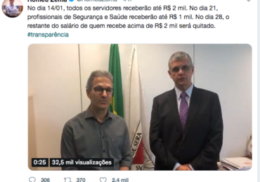 Governo de Minas divulga escala de pagamento de servidores para salário de dezembro