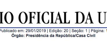 RESOLUÇÃO Nº 2, DE 28 DE JANEIRO DE 2019