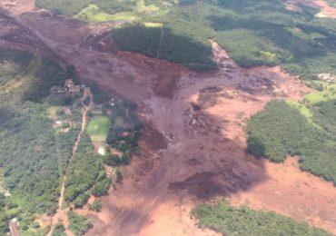 Barragem da Vale se rompe em Brumadinho, na Grande BH