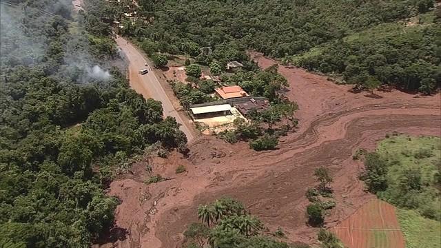 Causas e responsabilidades de rompimento de barragem da Vale vão ser apuradas pelo governo de MG, diz secretaria