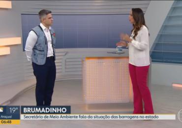 Secretário de Meio Ambiente de Minas Gerais dá entrevistas para Bom dia Minas e Rádio Itatiaia
