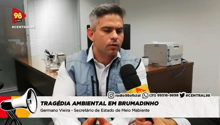 PROGRAMA CENTRAL 98 NA RÁDIO 98FM.