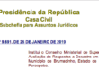 DECRETO Nº 9.691, DE25 DE JANEIRO DE 2019