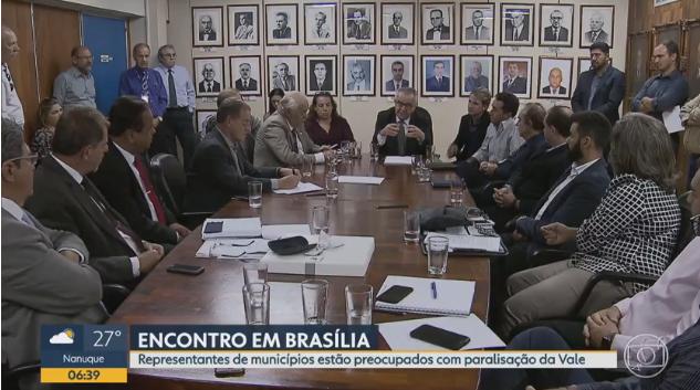 Prefeitos de cidades mineradoras vão a Brasília para cobrar soluções para o setor