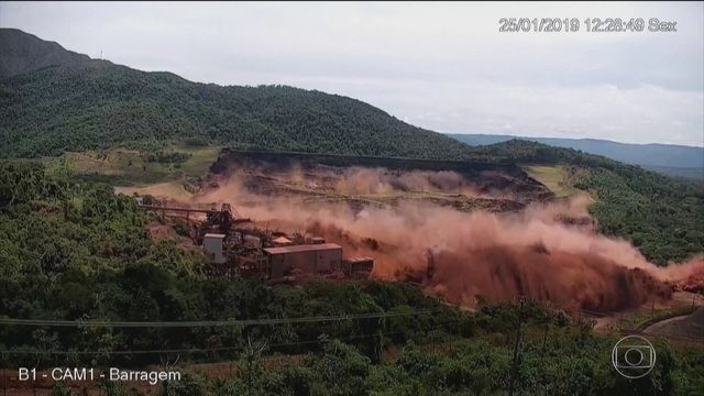 Dissertação de 2010 na Ufop apontava possibilidade de liquefação em barragem de Brumadinho