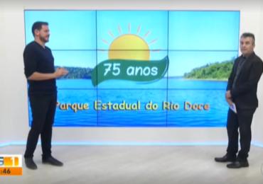 Segunda reportagem de série especial mostra lagoas que foram criadas no Rio Doce