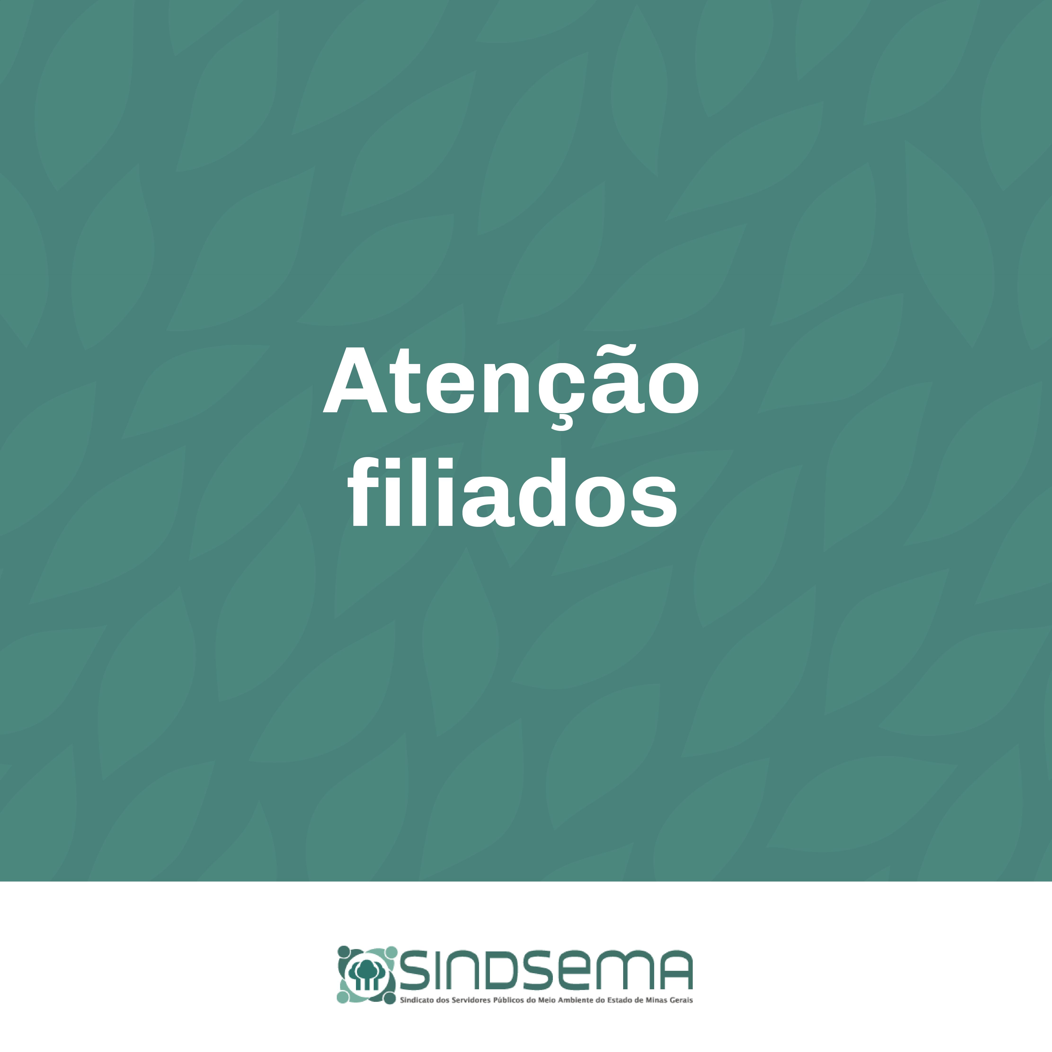 Comunicado importante para os filiados que possuem empréstimo consignado no Banco do Brasil
