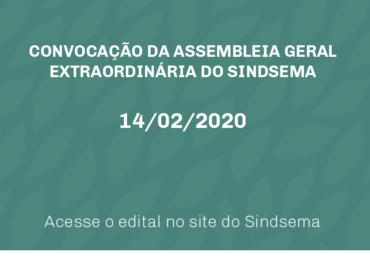 CONVOCAÇÃO SINDSEMA - AGE
