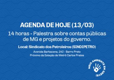 Greve hoje (13/3, sexta-feira): palestra no SINDIPETRO às 14 horas