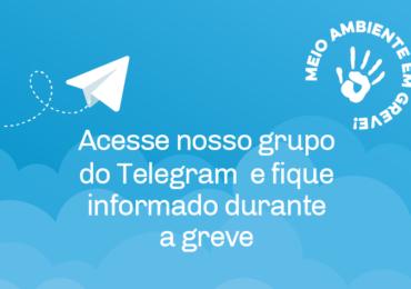 Você já faz parte do nosso grupo no Telegram (só para filiados)? Participe!