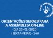 Orientações para a Assembleia on-line desta sexta-feira, 20/03, às 14 horas