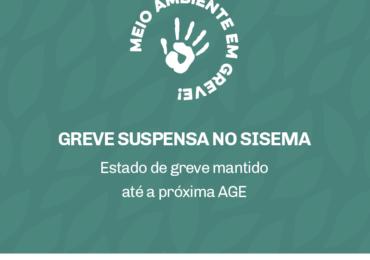 GREVE SUSPENSA NO SISEMA
