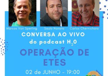 LIVE discute estações de tratamento de esgoto no dia 2 de junho