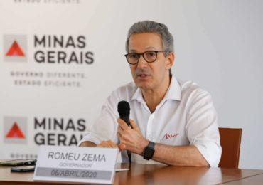 Zema anuncia primeira parcela do pagamento dos servidores em 22 de maio