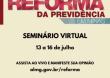 Reforma da Previdência de Minas Gerais: Seminário Virtual
