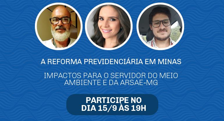 LIVE - A Reforma Previdenciária em Minas