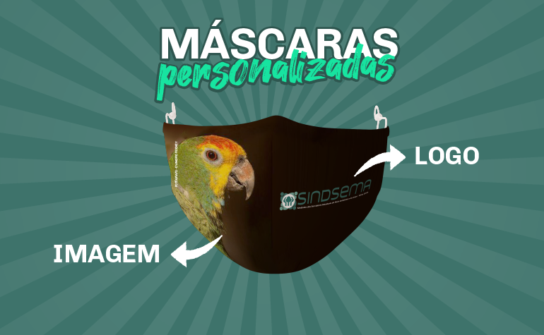 Quer ter uma máscara personalizada?