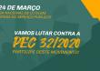 Manifesto contra a PEC 32/2020