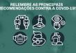 Relembre as principais recomendações para se proteger da Covid-19