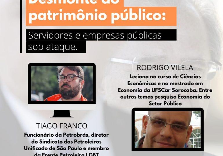 Live - Desmonte do Patrimônio Público